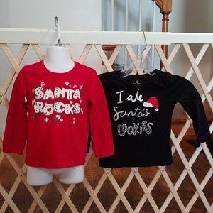 3t girls holiday long sleeve tops